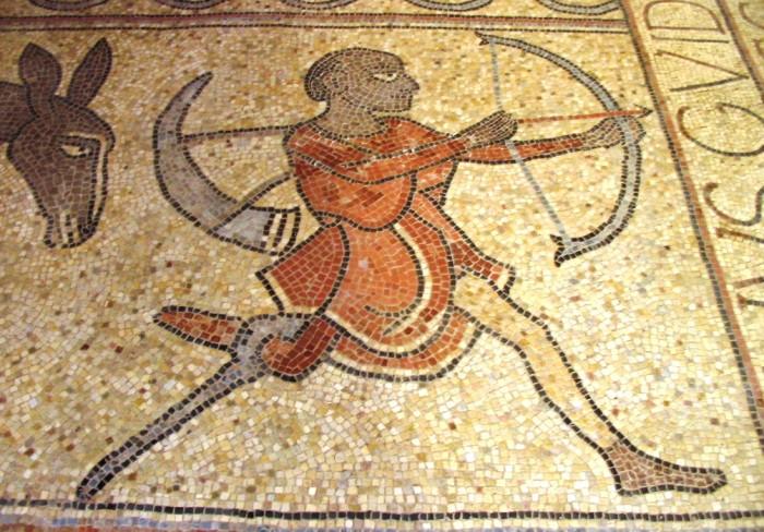 Lescar mosaic s.xii